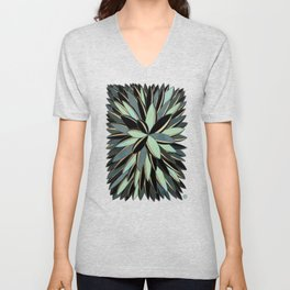 Deco Cactus Green #buyart #homedecor Unisex V-Neck