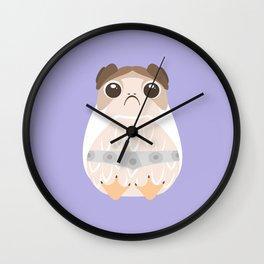 Porg Leia, Leia Porgana, Princess Leia, Leia Solo, General Organa, The Last Jedi Wall Clock