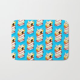 It is Japanese sushi night for the cute French Bulldog Bath Mat