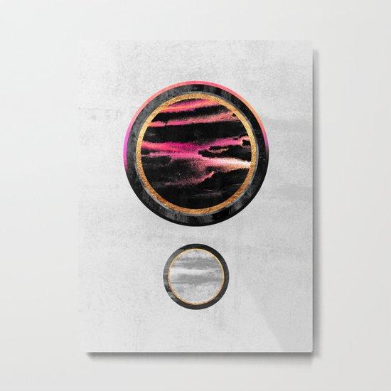 Circle Abstract #1 Metal Print