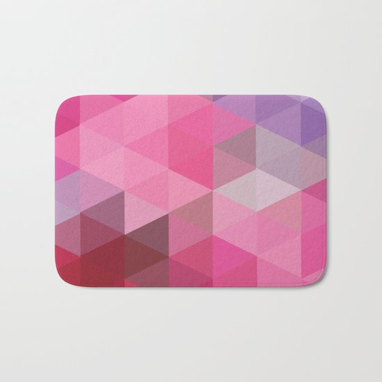 In The Pink Sky Bath Mat