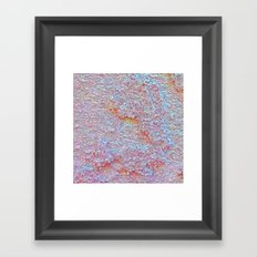 Stucco Mist Framed Art Print