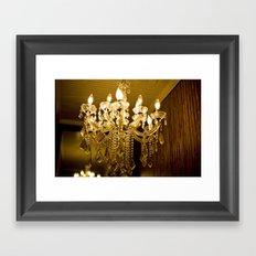 golden light::charleston Framed Art Print