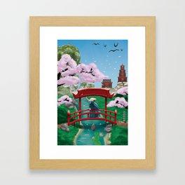 Resting Lands Framed Art Print