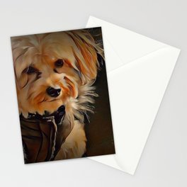 Copper the Havapookie Stationery Cards