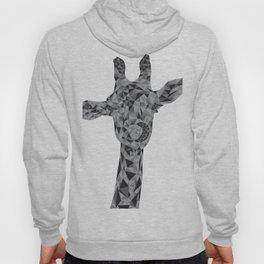 Grayscale Giraffe Hoody