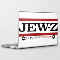 jay z Laptop & iPad Skins featuring Jay-Z, umm I mean Jew-Z (H to the EBREW)! by jewtees