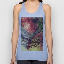 Cherry Tree Unisex Tank Top
