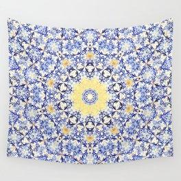 Deep States (Mandala) Wall Tapestry