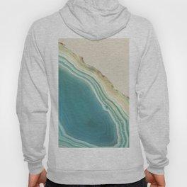 Geode Turquoise + Cream Hoody