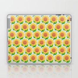 Sunflower Pattern_A Laptop & iPad Skin