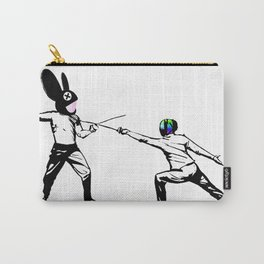 music battle fencing Carry-All Pouch