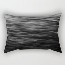 B&W Waves2 Rectangular Pillow