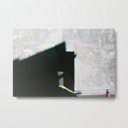 Las sombras Metal Print