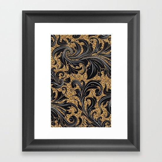 Leopard Jungle Framed Art Print