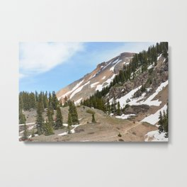 View from Above Red Mountain Pass Metal Print