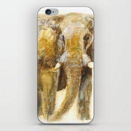Watercolour Elephant iPhone Skin
