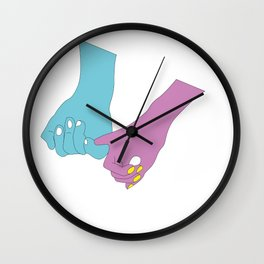 "OfLove - ""Touch"" Wall Clock"