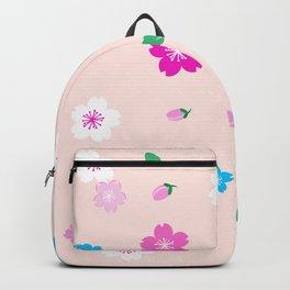 Cherry Blossom Garden - Blush Pink Backpack