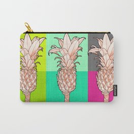 Pineapple - Ananas Arising Popcolors Carry-All Pouch
