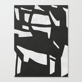 Black Expressionism XIX Canvas Print