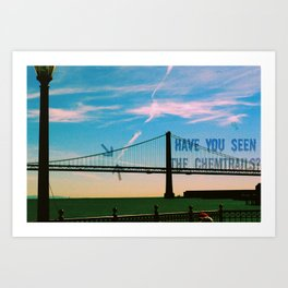 Have You Seen Them?  Art Print