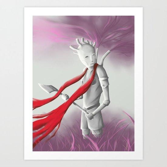 The Tin man Art Print