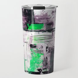 Transcendental Composition No.1e by Kathy Morton Stanion Travel Mug