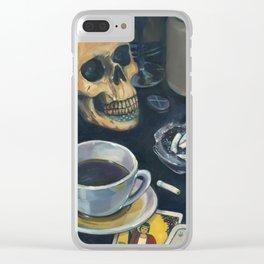 Vanitas Clear iPhone Case