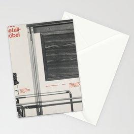 retro plakat neue metall - möbel. 1958 Stationery Cards