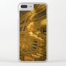 Golden Light Cathedral Clear iPhone Case