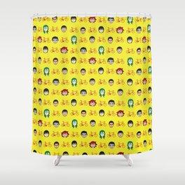 yowamushi pedal sohoku print Shower Curtain