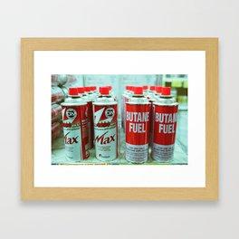 Cans Framed Art Print