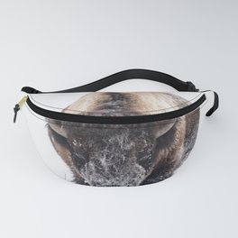 Yellowstone National Park: Lone Bull Bison Fanny Pack