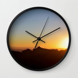 Arizona Sunset Wall Clock