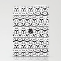 chad wys Stationery Cards featuring The Dark One by Davies Babies