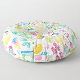 Summer Extravaganza Floor Pillow