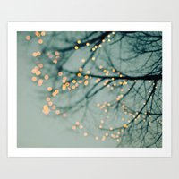 the lights Art Prints featuring Lights  by Laura Ruth