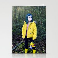 coraline Stationery Cards featuring Coraline by Kelly Is Nice