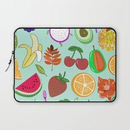 Cute Fruit Pattern Bright Happy Kawaii Laptop Sleeve