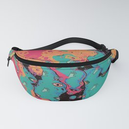 Senses pouring II Fanny Pack
