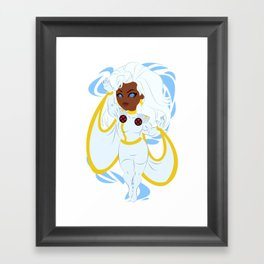 An Icon Emerges Framed Art Print