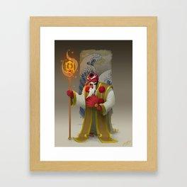 O Tengu Framed Art Print