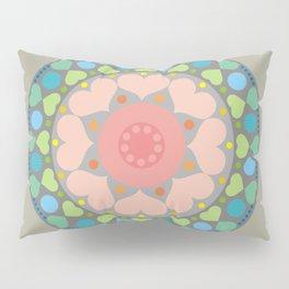 Flower mandala N.1 Pillow Sham