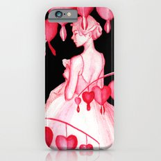 Bleeding Hearts Flowers Slim Case iPhone 6s