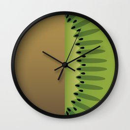 Sweet kiwi Wall Clock