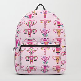 Uterus Feminist Patern Backpack