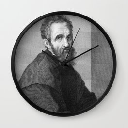 Michelangelo Wall Clock