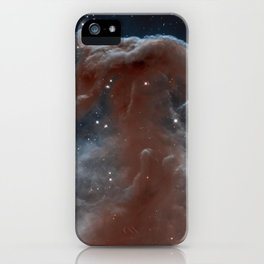 illuminated reins of the nebulous horse | space 011 iPhone Case