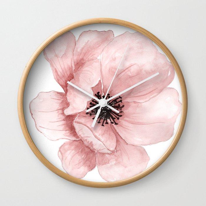 Flower 21 Art Wall Clock